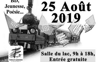 Les rencontres à venir – 16 ème salon du livre de Monclar de Quercy (25 août 2019)