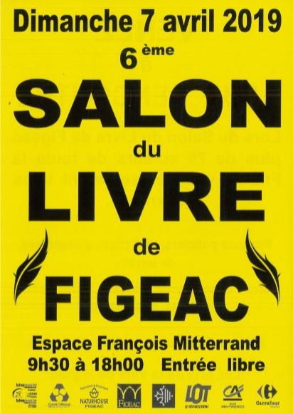 6 ème salon du livre de Figeac (7 avril 2019)