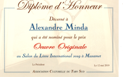 10 ème salon international du livre de Mazamet (12 mai 2019)